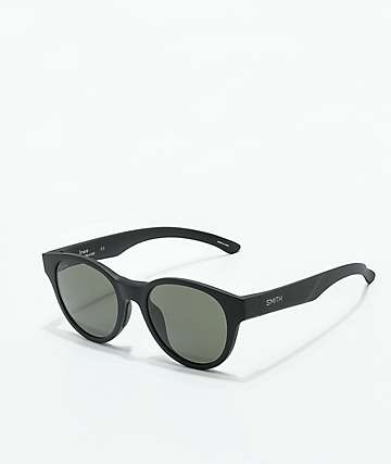 Smith Snare Matte Black Polarized Sunglasses