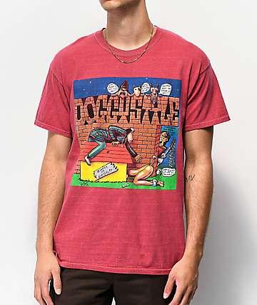 Snoop Dogg Bricks Red T-Shirt