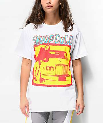 Snoop Dogg Gin & Juice White T-Shirt