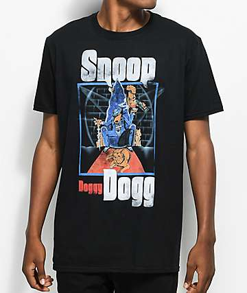 Snoop Doggy Dog Black T-Shirt