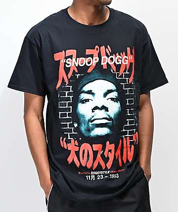 Snoop Doggystyle Kanji Black T-Shirt