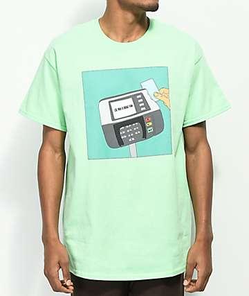 Some Hoodlum Broke Fam camiseta en color menta