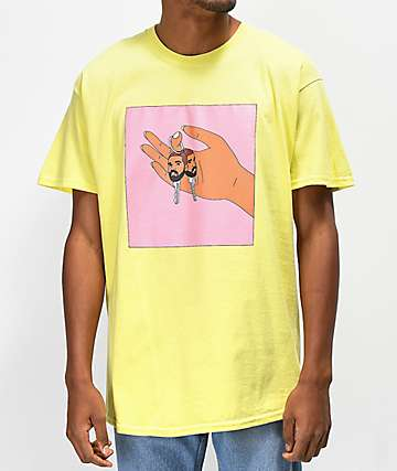 Some Hoodlum Key Key Yellow T-Shirt