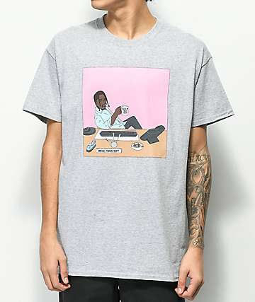Some Hoodlum Travis Michael Scott Grey T-Shirt