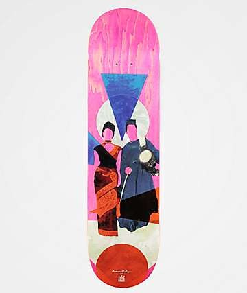 """Space Program DYAD 8.0"""" Skateboard Deck"""