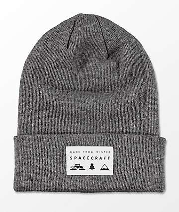 Spacecraft Grey gorro gris