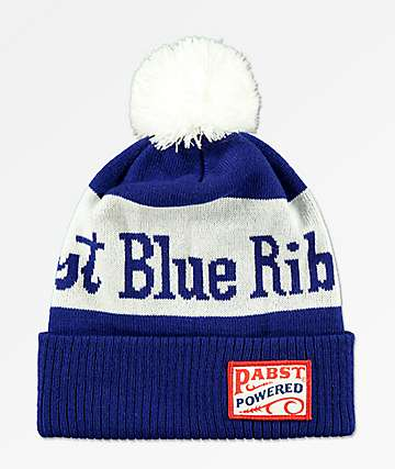 Spacecraft PBR Blue Pom Beanie