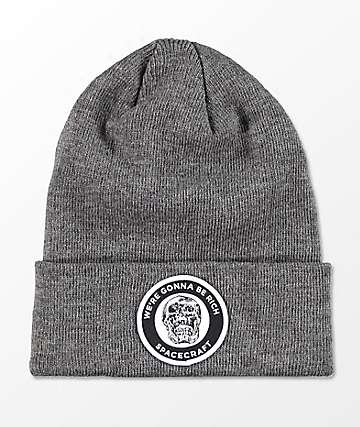 Spacecraft We're Gunna Be Rich Otis Grey Beanie