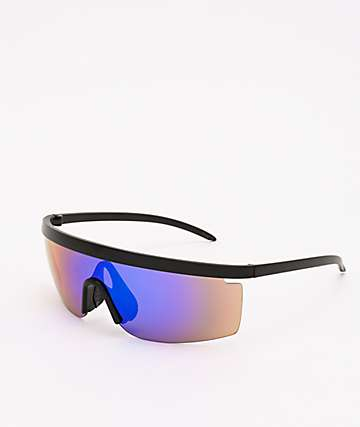 Speedster Revo Wrap & Black Sunglasses