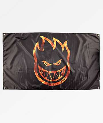 Spitfire Big Head Hellfire bandera