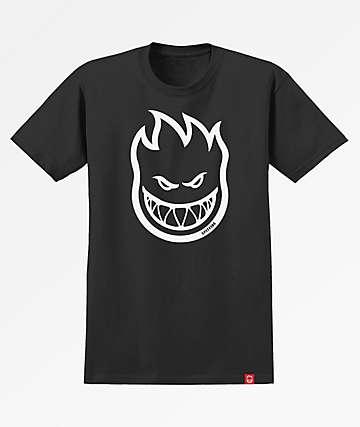 Spitfire Bighead Black & White T-Shirt