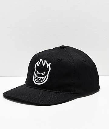 Spitfire Bighead Black Strapback Hat