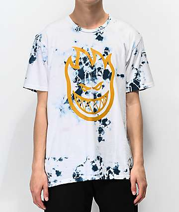 Spitfire Bighead Blue Wash T-Shirt