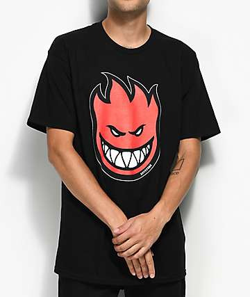 Spitfire Bighead Fill Black T-Shirt