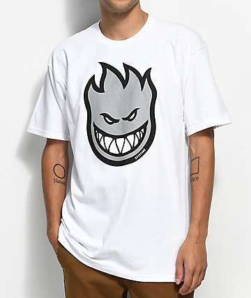 Spitfire Bighead Fill White T-Shirt