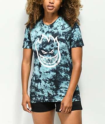 Spitfire Bighead Mint Tie Dye T-Shirt