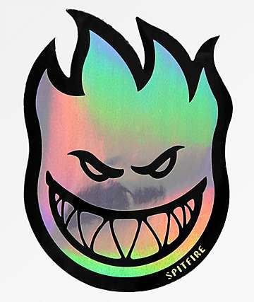 Spitfire Bighead Prizm Medium Sticker
