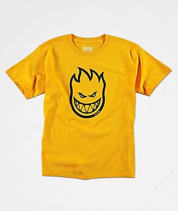 Spitfire Bighead camiseta dorada para niños