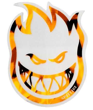 Spitfire Black & Orange Fireball Bighead Sticker