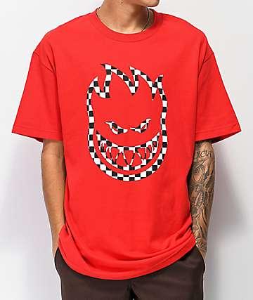 Spitfire Checkered Bighead camiseta roja