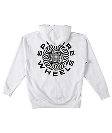 Spitfire Classic 87 Swirl White Hoodie