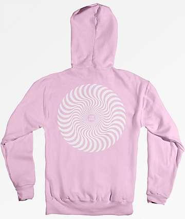 Spitfire Classic Swirl Pink Hoodie