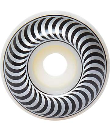 Spitfire Classics 54mm 99a Silver & Black Skateboard Wheels