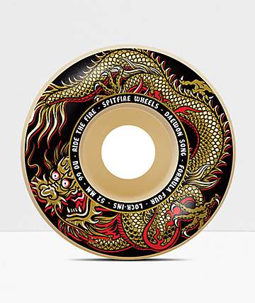 Spitfire Daewon Pro Formula Four Lock-Ins 52mm 99a Skateboard Wheels