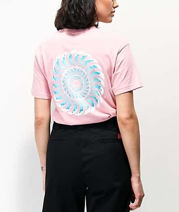 Spitfire Elissa Steamer Light Pink T-Shirt