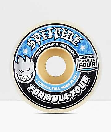 Spitfire F4 Conical Full 56mm 99a Skateboard Wheels