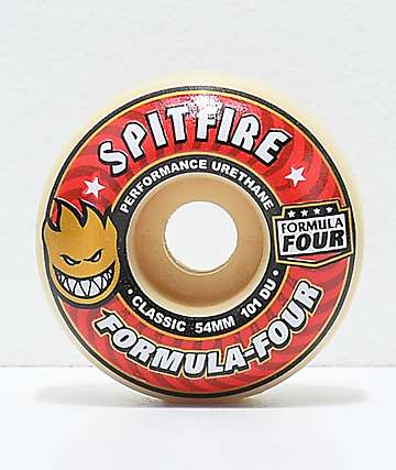 Spitfire Formula Four Classic 54mm 101a Skateboard Wheels
