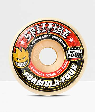 Spitfire Formula Four Conical Full 52mm Skateboard Wheels