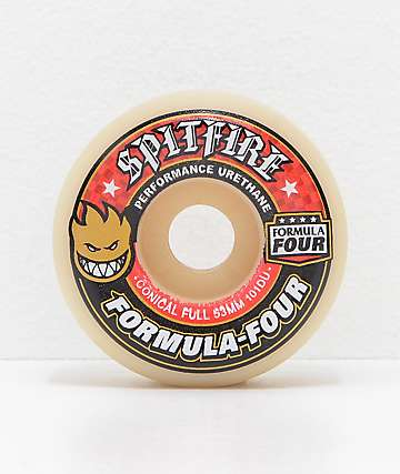 Spitfire Formula Four Conical Full 53mm 101a Skateboard Wheels