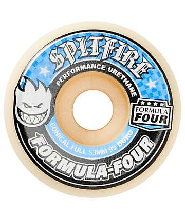 Spitfire Formula Four Conical Full 53mm Skateboard Wheels