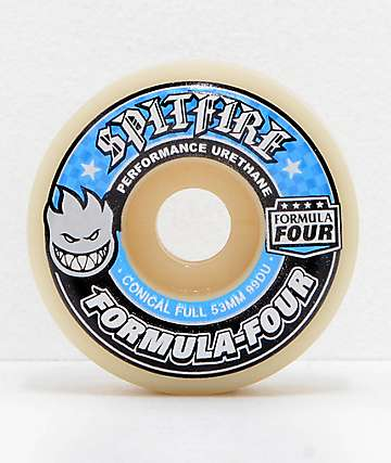 Spitfire Formula Four Conical Full 54mm 99a Skateboard Wheels