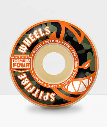Spitfire Formula Four Covert Radial 53mm Skateboard Wheels
