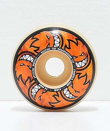 Spitfire Formula Four Hellfire Classic 53mm 99a Skateboard Wheels