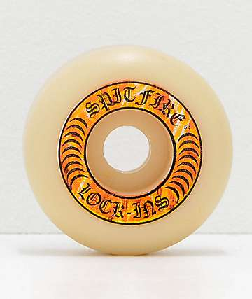 Spitfire Formula Four Hellfire Lock-Ins 53mm 99a Skateboard Wheels