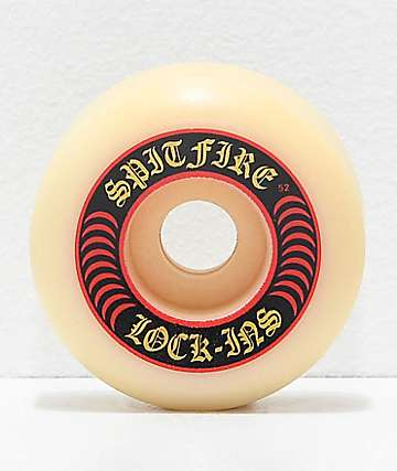 Spitfire Formula Four Lock-Ins 52mm 99a Skateboard Wheels