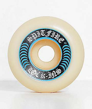 Spitfire Formula Four Lock-Ins 55mm 99a Skateboard Wheels