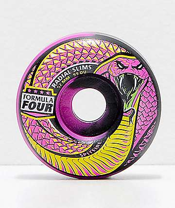 Spitfire Formula Four Radial Slims Lucid Death 52mm 99a Skateboard Wheels