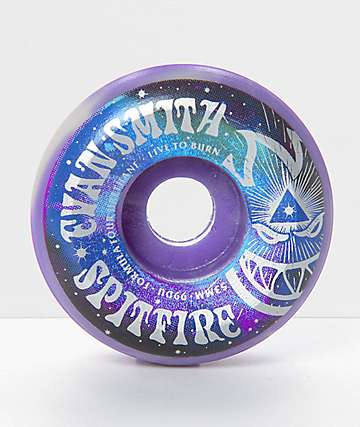 Spitfire Formula Four Smith Swirl 53mm 99a Skateboard Wheels