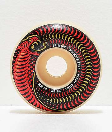 Spitfire Formula Four Venomous Radial Slim 53mm 99a Skateboard Wheels