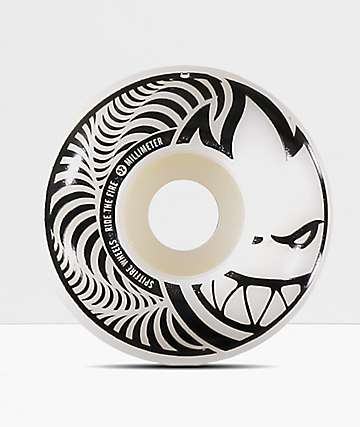 Spitfire Hypno-Swirl Black & White 52mm Skateboard Wheels