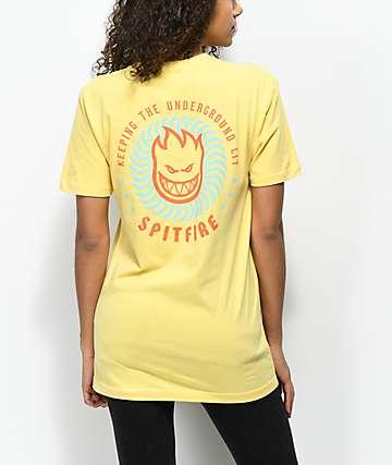 Spitfire KTUL camiseta amarilla