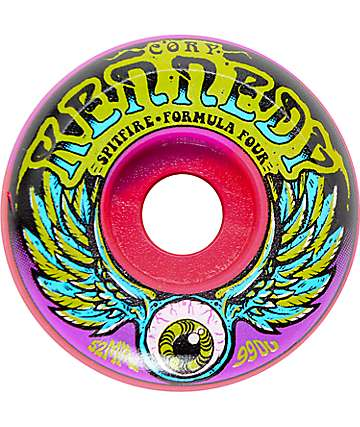 Spitfire Kennedy Dazed Swirl 52mm 99a Skateboard Wheels