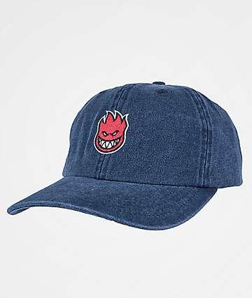 Spitfire Lil Bighead Fill Blue Denim Strapback Hat