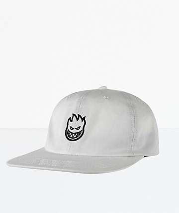 Spitfire Lil Bighead Off White Strapback Hat