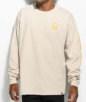 Spitfire Lil Bighead Sand Long Sleeve T-Shirt