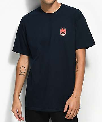 Spitfire Little Bighead Navy T-Shirt